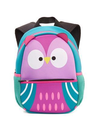 Новый детский рюкзак сова для девочки