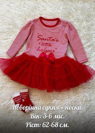 Шикарное новогоднее детское платье