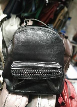 Большой кожаный рюкзак, супер цена
