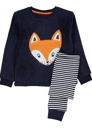 Пижама с лисичкой на мальчика
