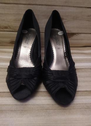 Тканевые туфли на каблуке gorgeous