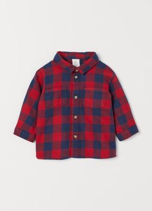 Рубашка h&m 1,5-2г