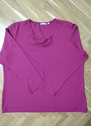 Блуза базовая трикотаж