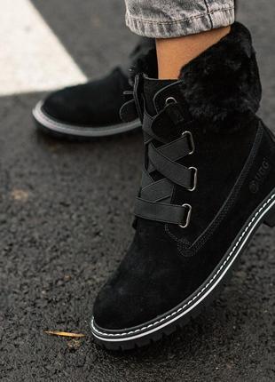 Женские зимние ботинки ugg / натуральные материалы