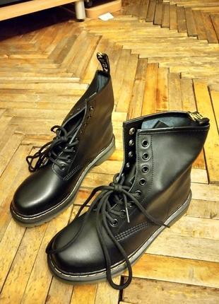 Высокие ботинки (копия dr. martens) 43 paзм.