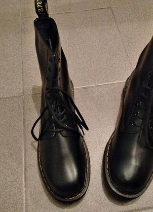 Высокие ботинки (копия dr. martens) 43 paзм.4 фото