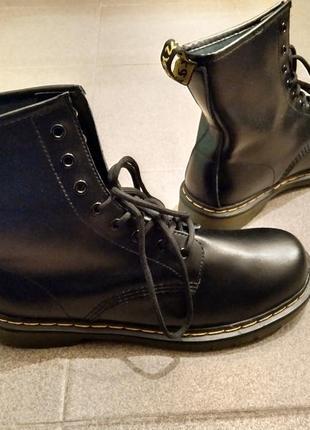 Высокие ботинки (копия dr. martens) 43 paзм.5 фото