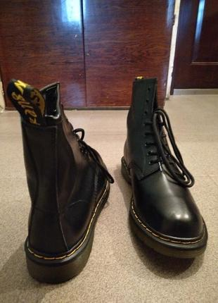 Высокие ботинки (копия dr. martens) 43 paзм.6 фото