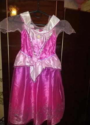 Новогоднее платье принцессы