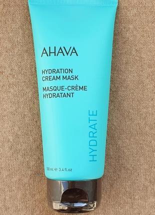 Увлажняющая маска-крем для лица ahava