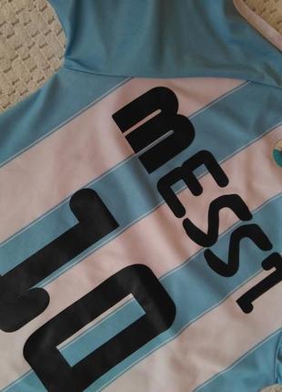 Детская футбольная форма месси messi 10 футболка 8 лет5 фото