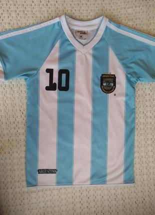 Детская футбольная форма месси messi 10 футболка 8 лет2 фото