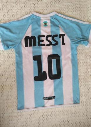 Детская футбольная форма месси messi 10 футболка 8 лет