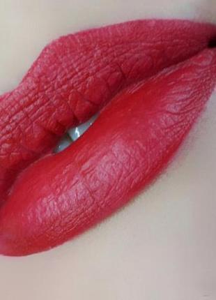 Armani rouge d'armani matte lipstick - стойкая помада для губ # 400 red