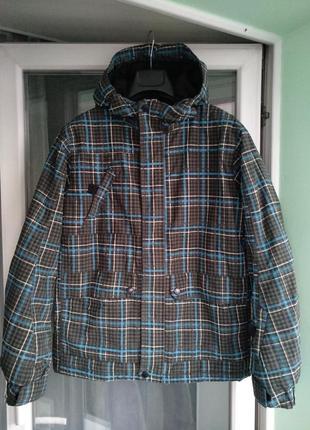 Зимняя куртка «here&тhere» лыжная, мембрана thinsulate р. 158-164 на 13-14л