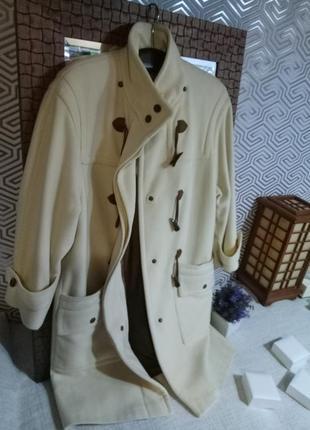 Petite mademoiselle шикарное шерстяное итальянское пальто/ винтаж