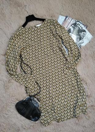 Красивое платье-трапеция свободного кроя/сарафан