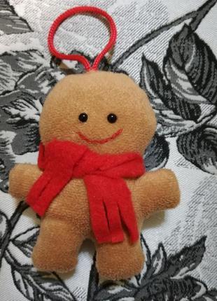 Интерьерьная игрушка, текстильный пряник