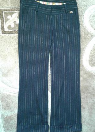 Теплые шерстяные брюки с люрексовой нитью от gsus,p.29