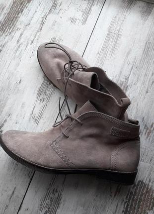 Замшевые дезерты ботинки bama р.39,5-40