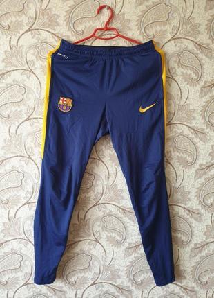 Футбольные спортивные штаны fc barcelona
