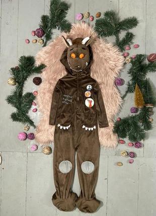 Маскарадный карнавальный костюм кигуруми слип чупакабра the gruffalo №8