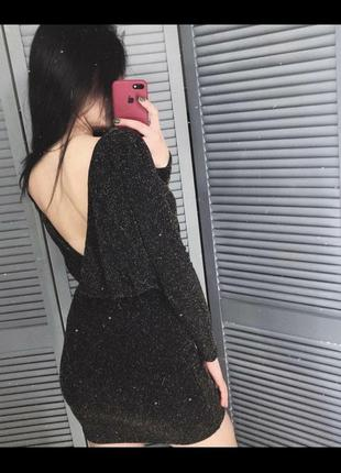 Платье new look с люрексовой нитью блестящее