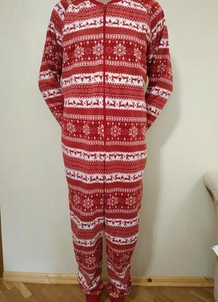 Кигуруми пижама флисовая на размер l, f&f