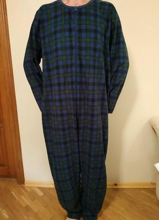 Кигуруми,флисовая пижама, комбинезон на размер l-xl на высокий рост 175-185см