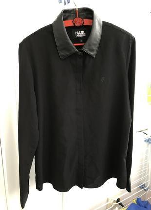 Блуза ,рубашка karl lagerfeld