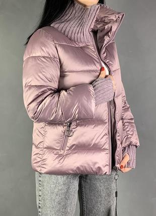 Куртка оверсайз объёмная белая