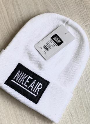 Белая шапка. унисекс