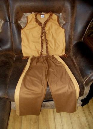Маскарадный костюм ковбоя шерифа на 7-10  лет
