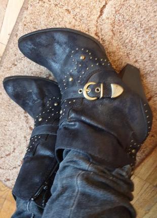 Стильные ботинки боты ботильоны деми