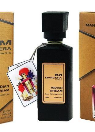 Мини духи парфюм премиум качество 60 мл мансер indian dream