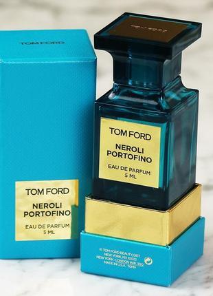 Tom ford neroli portofino_original_eau de parfum 5 мл затест_парфюм.вода