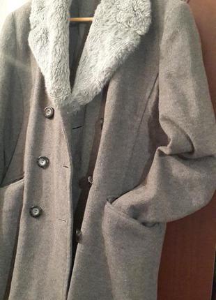 Модное пальто шерсть