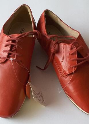 Кожаные туфли eur  37 размер, easy step, великобритания