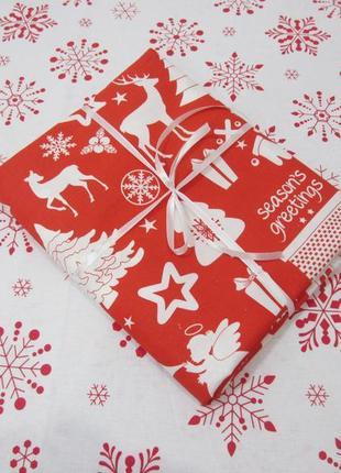 Новогодняя дорожка, новорічна доріжка, ранер, салфетка, серветка