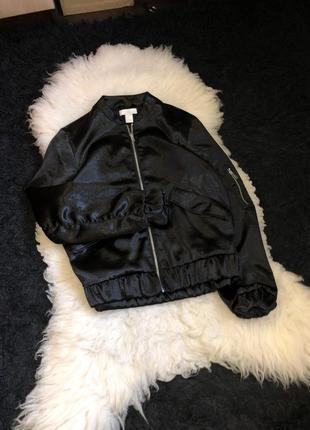 Атласный бомбер куртка атлас кофта олимпийка