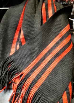 Новый мужской теплый шарф
