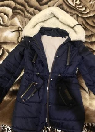 Зимняя курточка парка