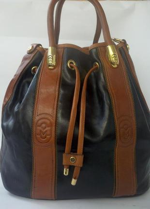 a677c063d419 Большая кожаная сумка marino orlandi, цена - 480 грн, #3497316 ...