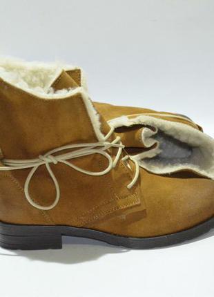Чудові стильні чобітки на хорошу зиму,виготовлені в португалії