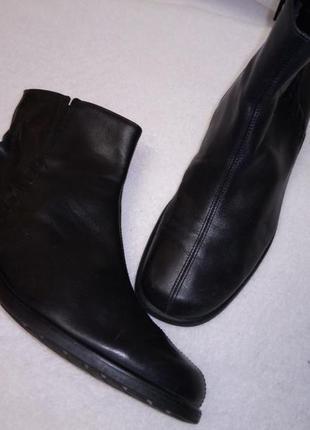 Ботинки gabor кожа утепленные 39 - 25,5 см, сток германия