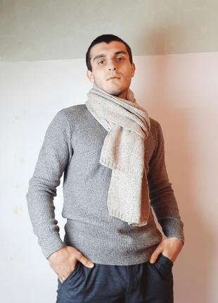 Классический шарф h&m
