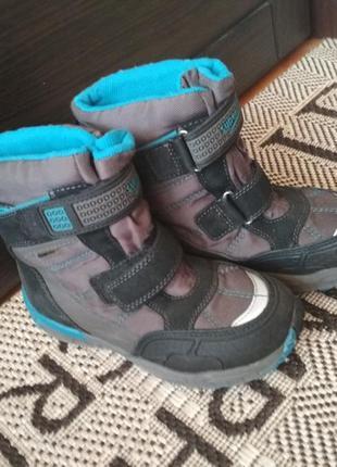 Отличные зимние сапоги ботинки на мембране gore-tex super fit, p. 32