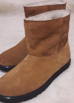 Угги сапоги ботинки мужские на овчине