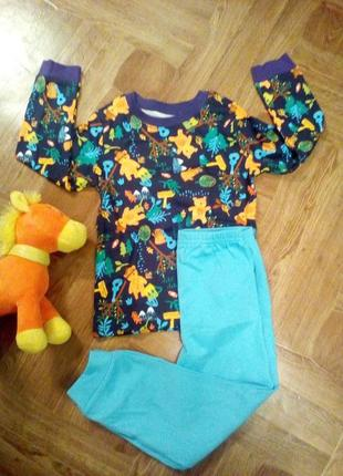 Качественная пижама (набор), весёлая расцветка