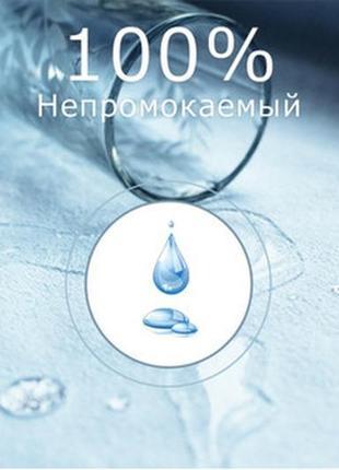 Непромокаемая простынь, наматрасник на резинке.200/90